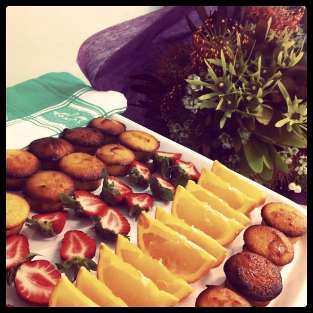 Stupendous Enjoying Mini Birthday Cakes W Gorgeous Flowers Megnmog Flickr Funny Birthday Cards Online Inifofree Goldxyz
