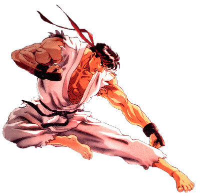 Ryu Street Fighter 2 Animated Movie Cover Unscrewedviper