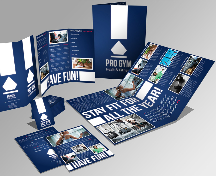 A3 + Trifold Brochure + Flyer + Business card | This is my l… | Flickr