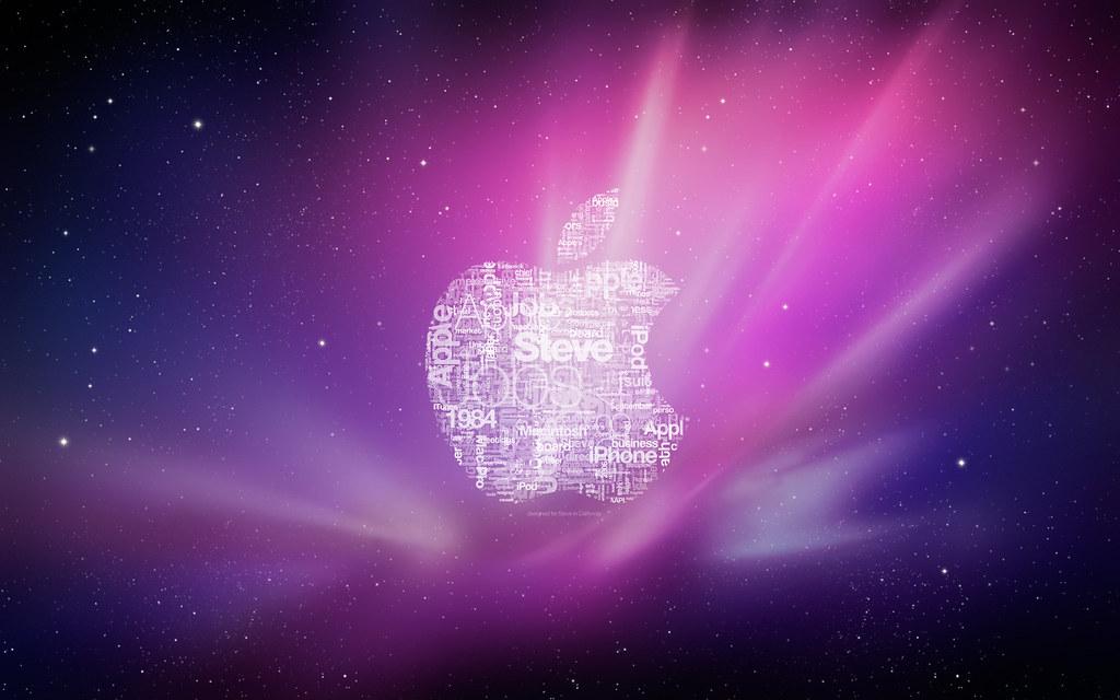 Steve Jobs Apple Wallpaper Tribute I Designed This Text