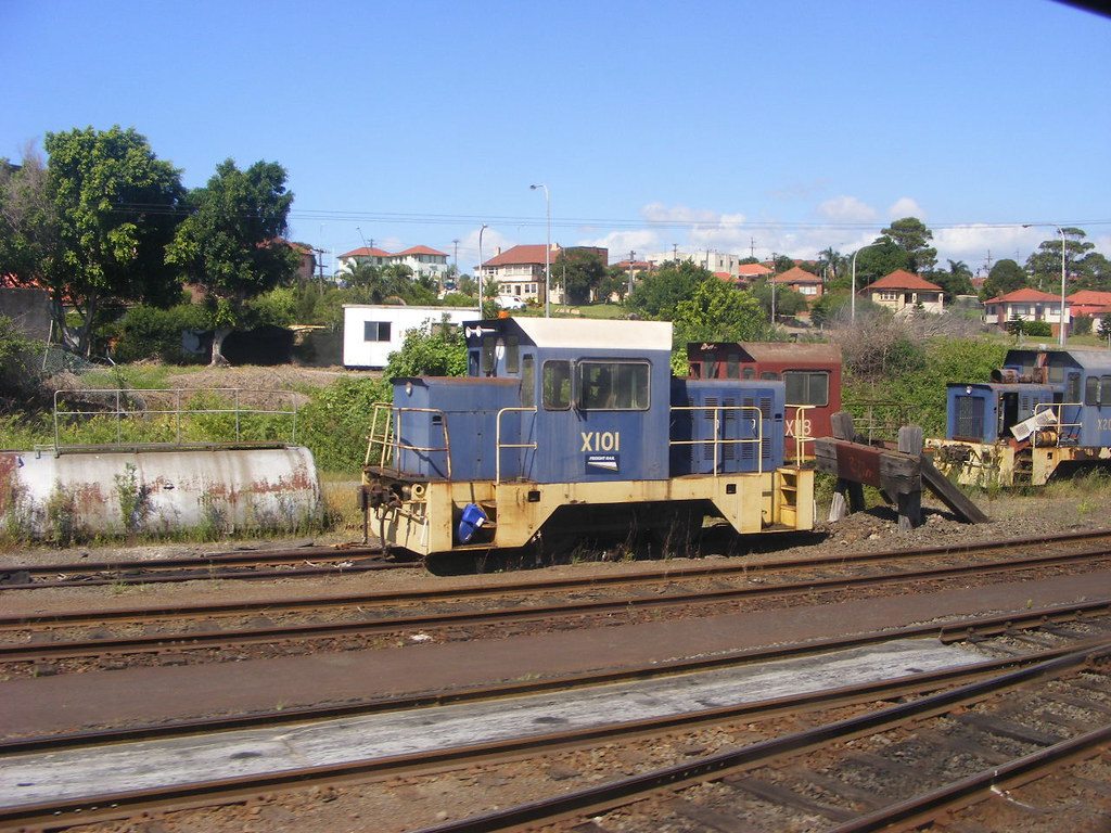 Pacific National X101 Port Kembla 25.02.2010 by Andy Cole
