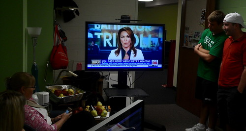 PJ Crowley on CNN live from the Dickinson College Media Center