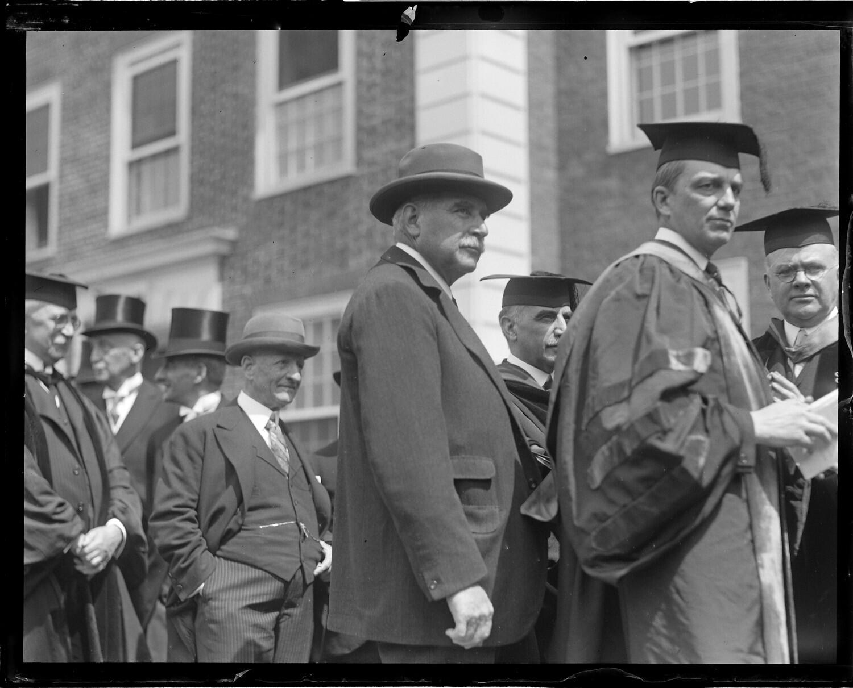 John Pierpont Morgan at Harvard