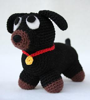 Cane Portachiavi Amigurumi Tutorial - Keychain Crochet Dog ... | 320x288