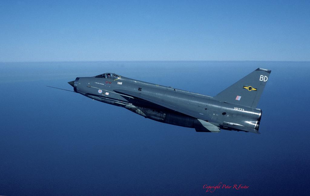 Lightning F.6 XR773 BD 11 [F] Sqn March 1985
