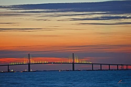 sunrise tampabay skywaybridge abigfave mygearandme mygearandmepremium mygearandmebronze
