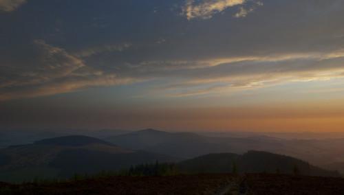 sunset sunrise scotland moors borders
