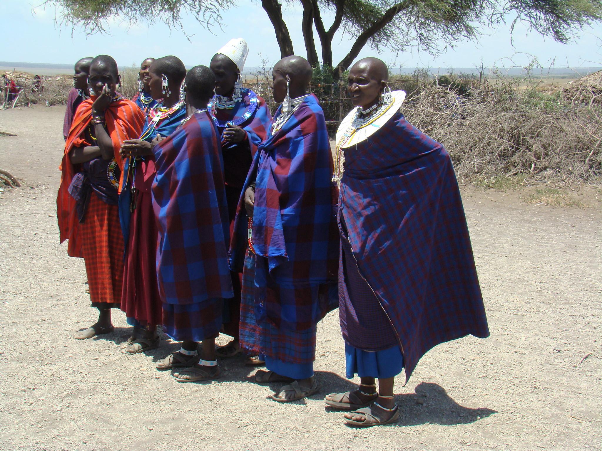 etnia Masai su gente Tanzania