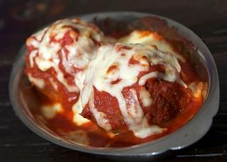 Meatball Parmesan | by La Piazza Pizzeria