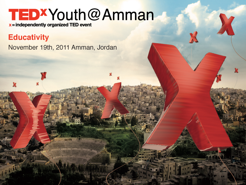 TEDxYouth@Amman Sticker