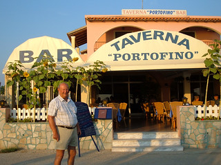Corfu, Arillas - At the Portofino Taverna | by pj's memories