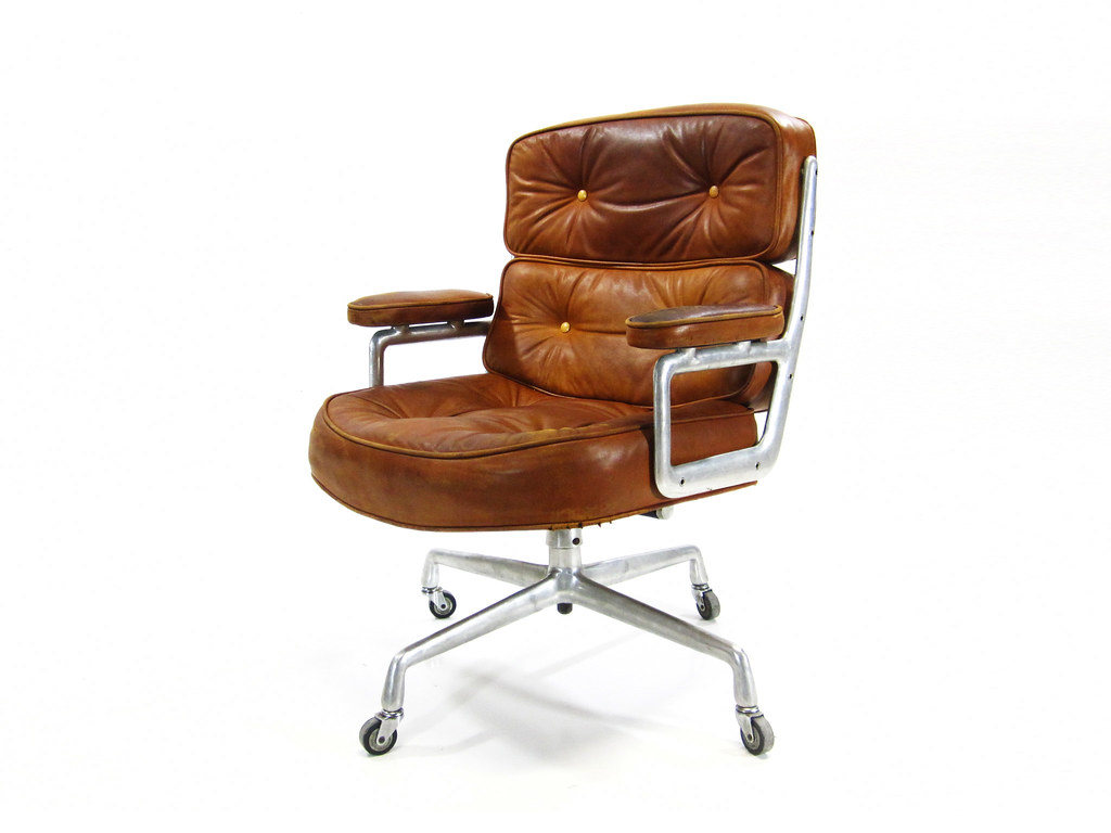 Vintage Herman Miller Time Life Executive Chair This