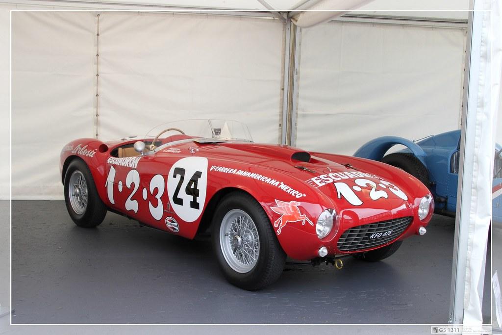 1954 Ferrari 375mm 01 Der Ferrari 375 Ist Ein Zwischen 1 Flickr