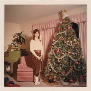 Go-Go Boots, A Piano and A Christmas Tree | by grandma groovy