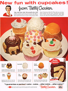 Vintage Ad #1,637: New fun with cupcakes from Betty Crocker | by jbcurio