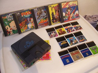 PC Engine & Turbografx collection | Here's the pc engine cor