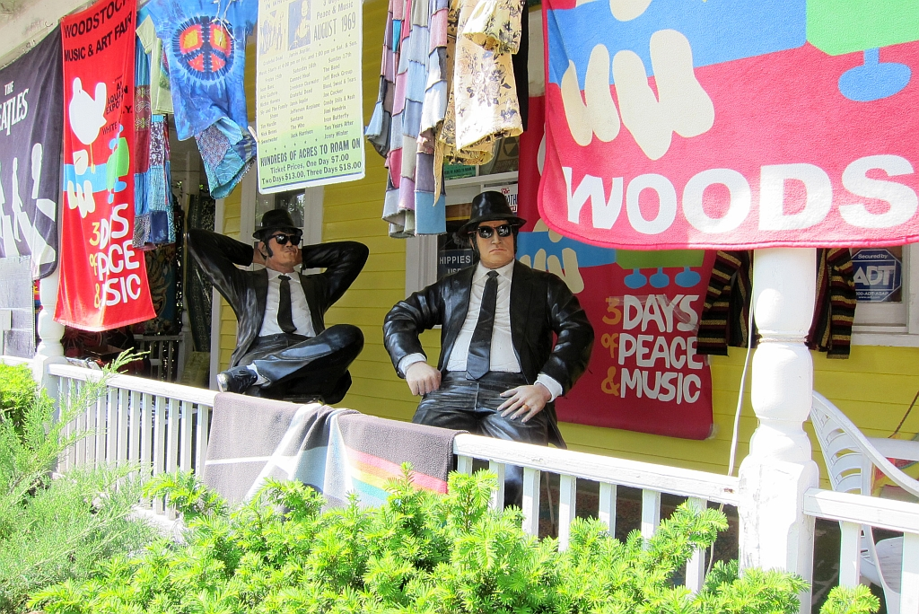 Views of Woodstock, NY: Blues Brothers | Some people never l… | Flickr