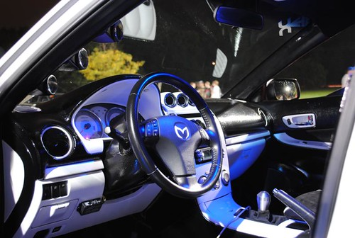 Justin Whitteds Twin Turbo Mazda 6 Interior