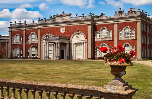 The 18th Century Cranbury Park mansion in Hursley, Hampshire