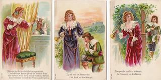 Vintage German Postcards, 1910.  3 of 6