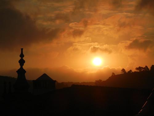 sunset sky portugal de soleil ciel obidos lever flickraward ilustrarportugal sérieouro portugalmagico flickraward5