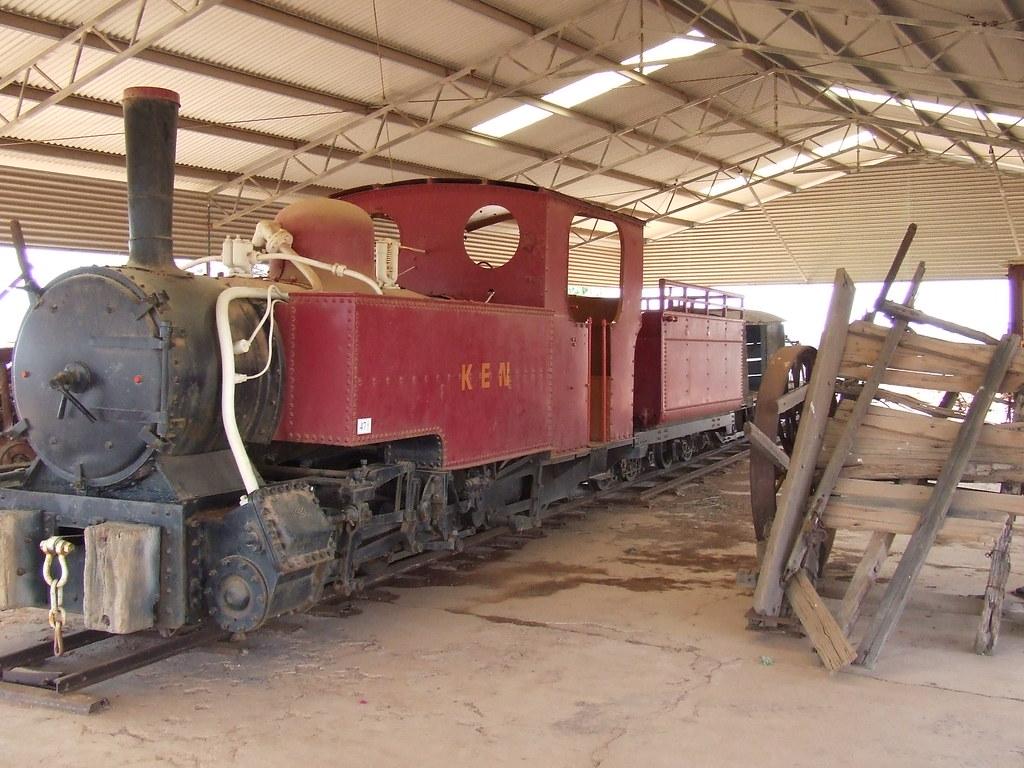 gwalia woodline locomotive