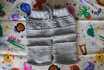 Cute little hand knit baby pants in Lion Brand Cotton-Ease