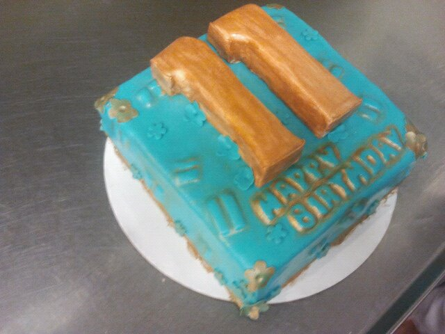11th Birthday Cake