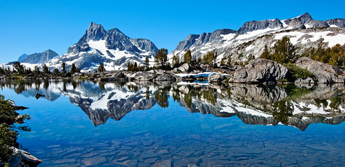 Banner Peak, Ansel Adams Wilderness, California | by panafoot