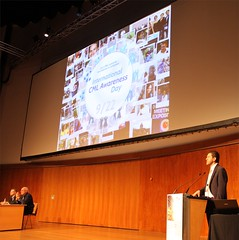 Jorge Cortes presenting International CML Awareness Day on 9/22 (Portugal)