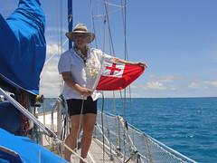 di, 12/10/2010 - 02:01 - 001. Onderweg genaaid helemaal met het handje, vlag van Tonga