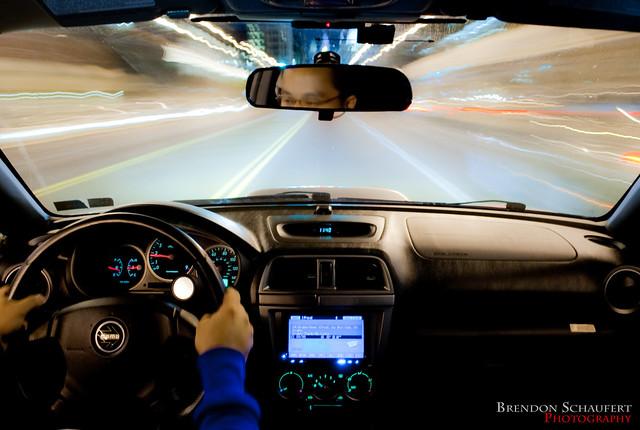 Subaru WRX Interior Time Lapse
