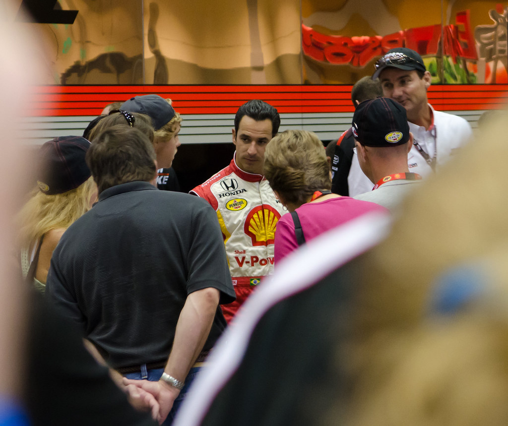 IndyCar Driver #3 Helio Castroneves
