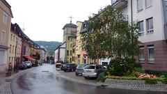 Город Grevenmacher в Люксембурге.