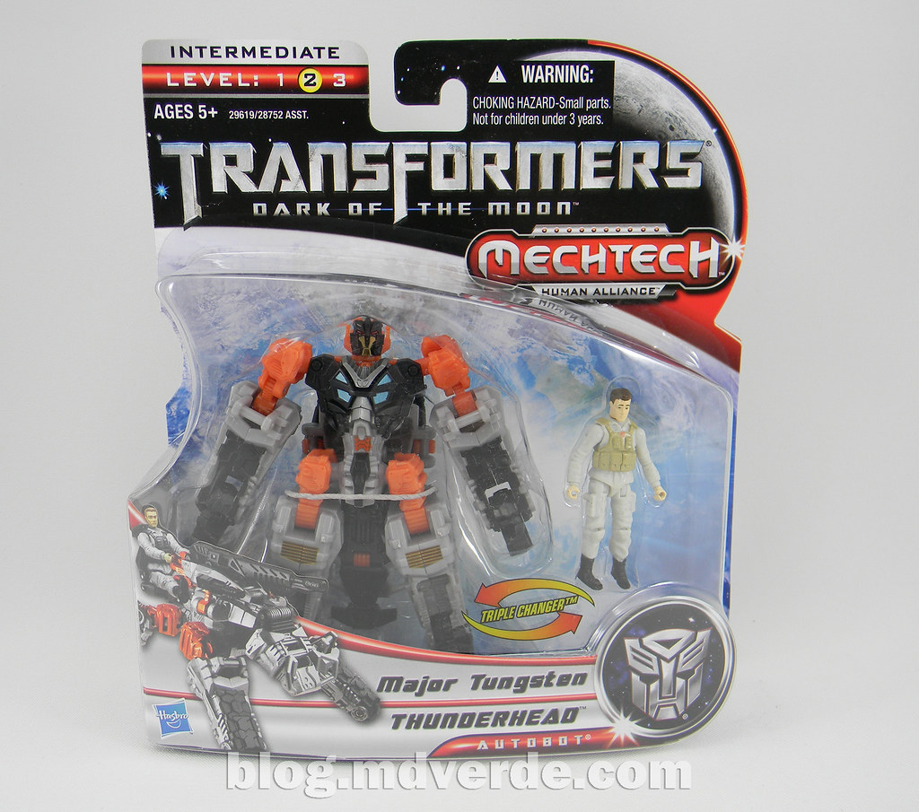 HASBRO® 29619 Transformers Mechtech Human Alliance Tungsten /& Thunderhead