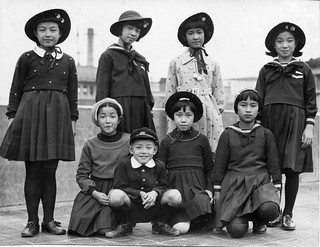 My Aunt with School Friends, 1937 | by Mustang Koji