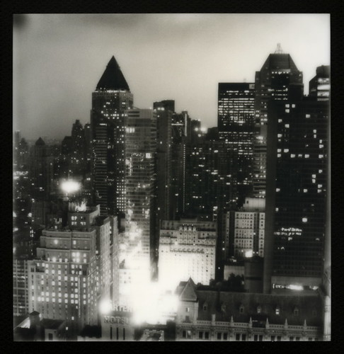 from new york city toby bw white ny black slr tower skyline sepia night skyscraper silver project square polaroid lights office pod cityscape view floor uv poor hilton tip shade 600 frame highrise times block hancock slr680 43rd 680 impossible the px silvershade theimpossibleproject px600uv tobyhancock impossaroid