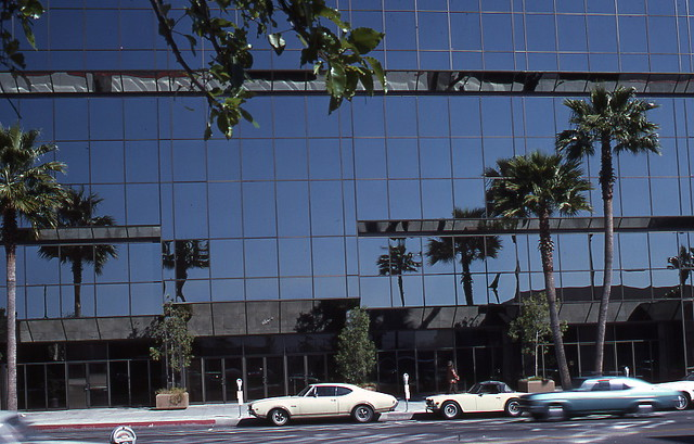 Academy Motion Picture building exterior 10 at 8949 Wilshire Blvd 1977 designed by Max Starkman & Associates