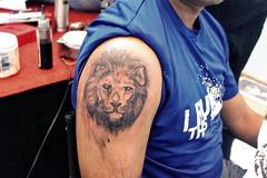 2981aa9af Veer Hegde tattoo artist bangalore Lion tattoo
