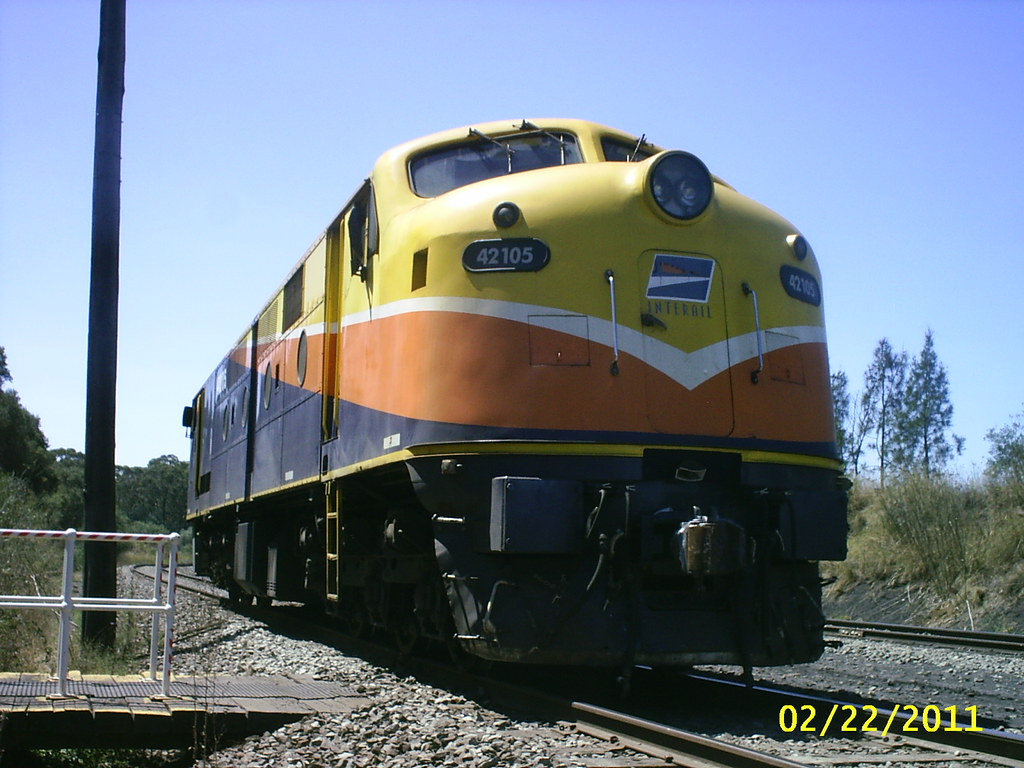Interails AJ16C 42105 at Yennora,NSW
