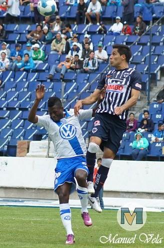 DSC00429 Puebla FC vs Rayados de Monterrey empataron a tres goles en espectacular partido en el estadio Cuauhtémoc por LAE Manuel Vela