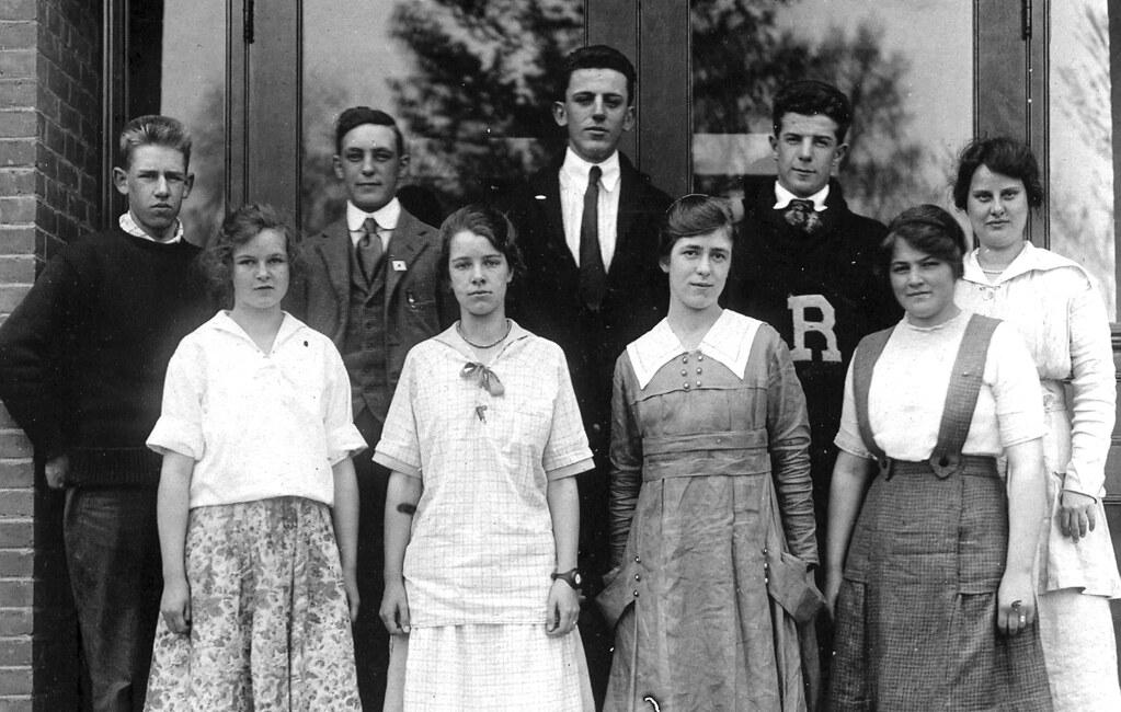 Randolph High School, 1917 (obverse)