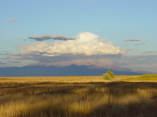 Sunset over the Sangre de Cristo Mountains | by USFWS Mountain Prairie