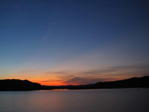 sunset ga georgia geotagged us fishing unitedstates southcarolina railroadbridge northgeorgia rrbridge lakehartwell nightfishing tugalooriver