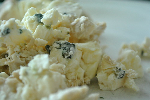 Crumbled Blue Cheese | by cookbookman17