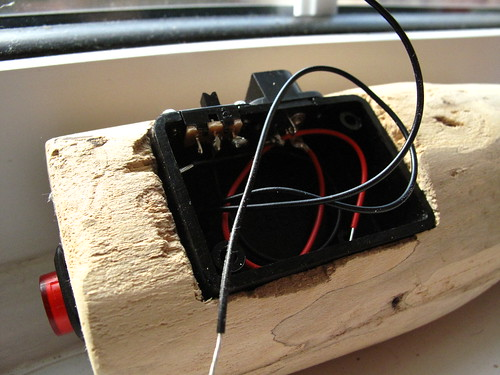 Power socket, slide switch and latch switch soldered   by lilspikey