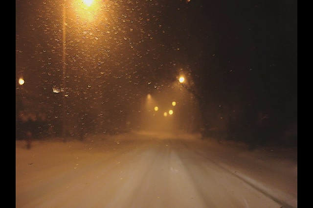 snow storm in melrose, ma (2010)