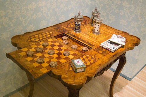 Antique game table | by quinet
