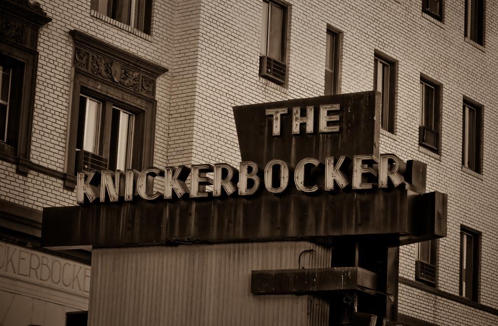 Knickerbocker Hotel Hollywood Knickerbocker Apartments Flickr