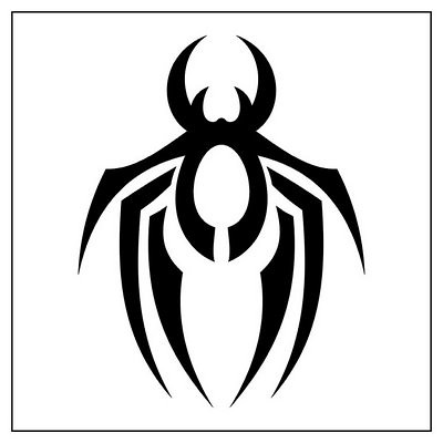 02718d715 Spider-Tattoo-Tribal-2   ems arts   Flickr